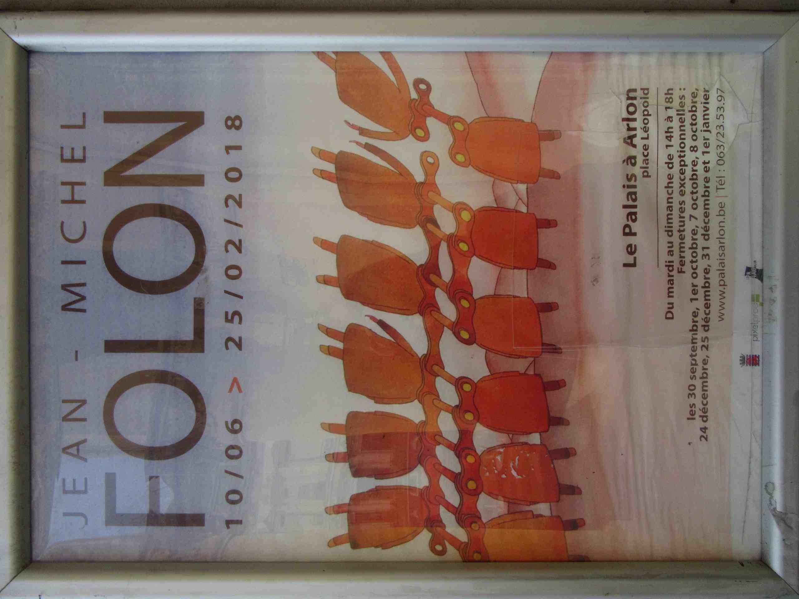Exposition Folon à Arlon