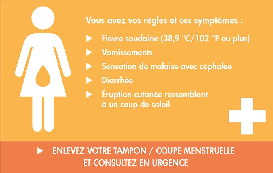 SIte d'information sur le syndrôme du choc toxique (SCT) menstruel.